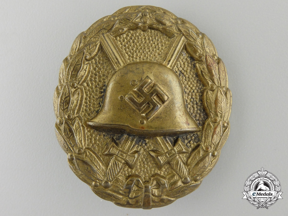 A Condor Legion Wound Badge; Silver grade