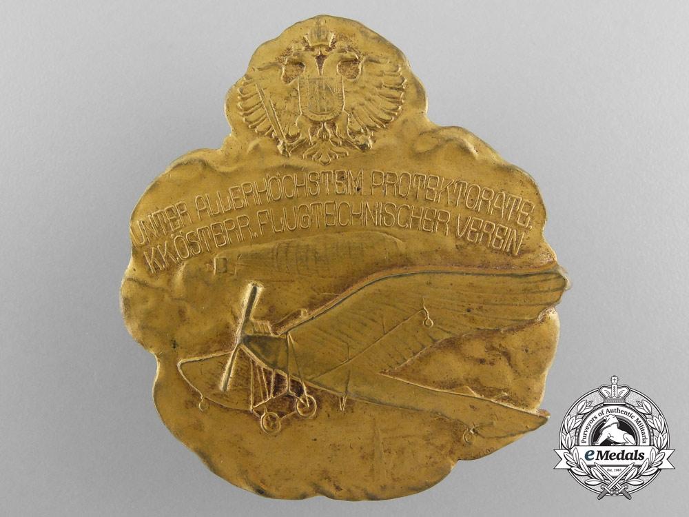 Austria, Imperial A Technical Flight Club Badge by A.Rubinstein