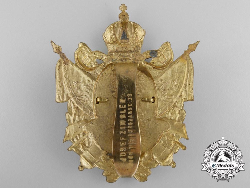 A Austrian First War Veteran's Badge by Josef Zimbler