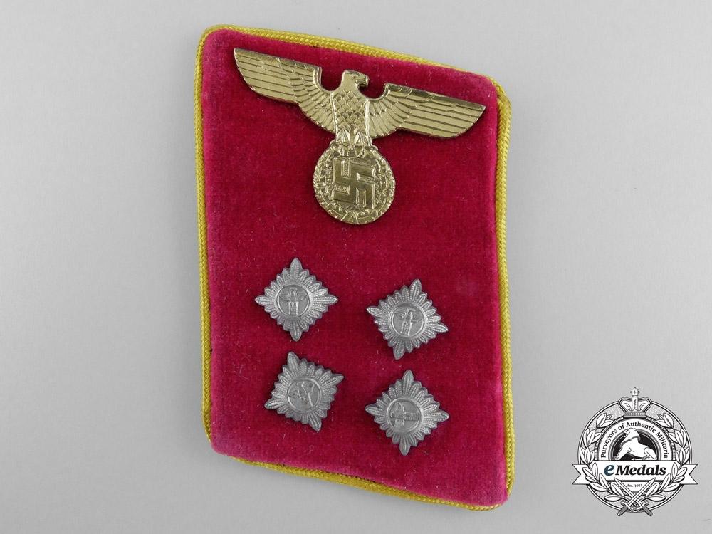 A Reich Level Gemeinschaftsleiter Collar Tab