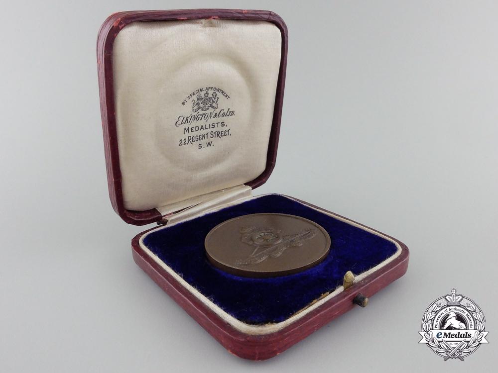 A First War Royal Horse Artillery Commemorative Medal in Case