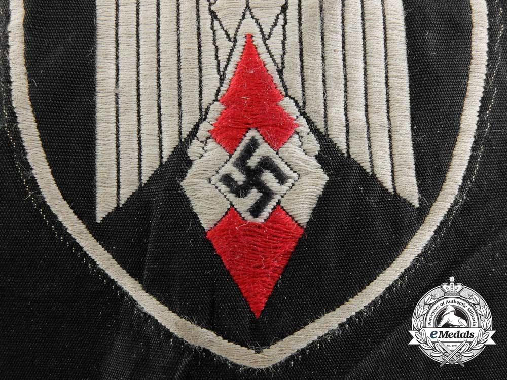 An Arm Badge for a Standard-Bearer of an HJ Gefolgschaft or DJ Fahnlein