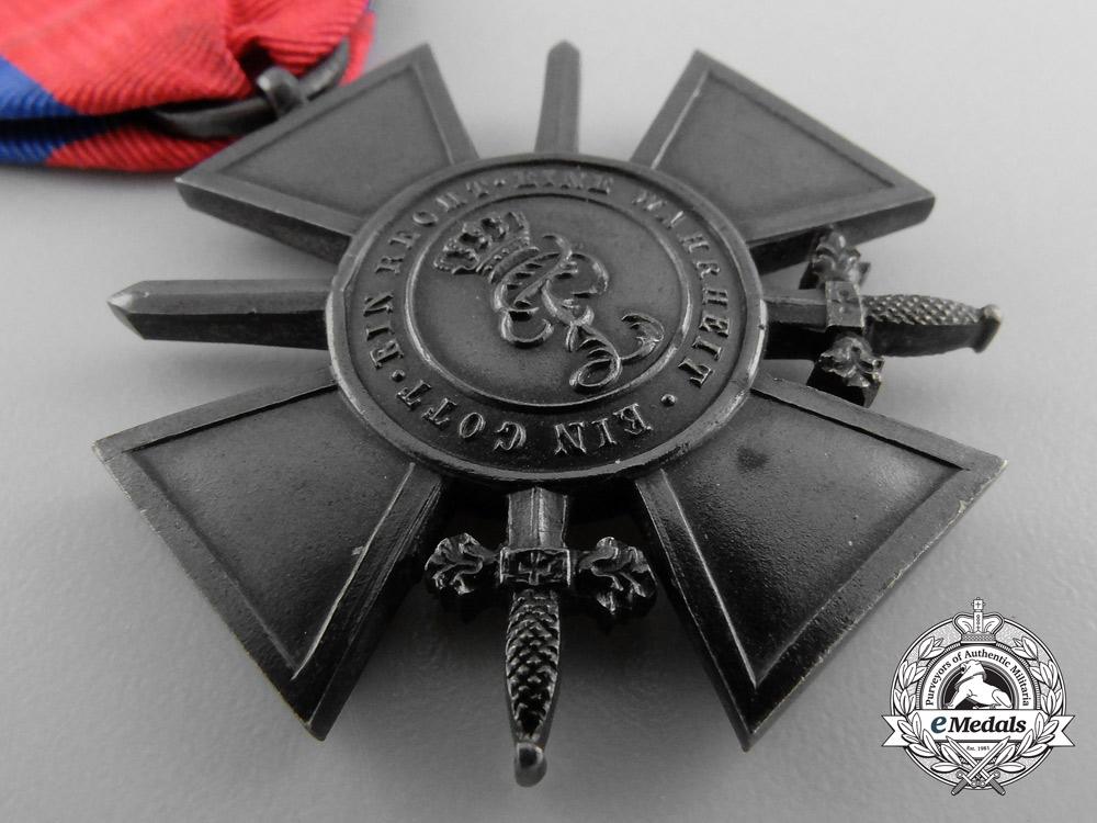 Oldenburg. A War Merit Cross, Third Class with Swords, c.1914