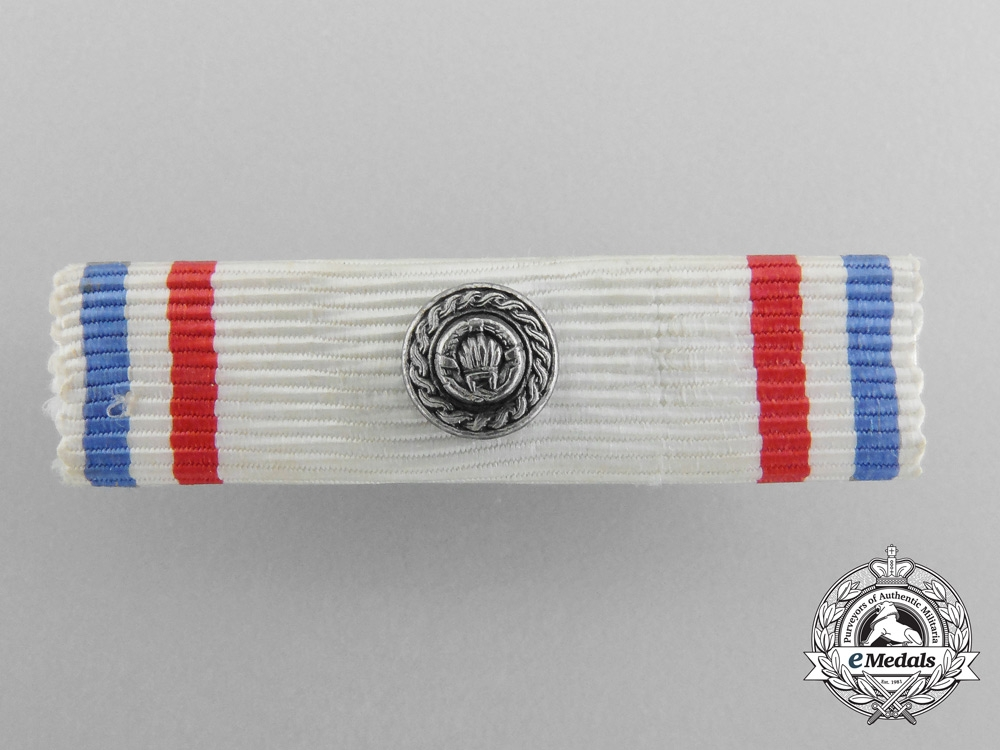 A Yugoslavian Order of the Republic; 2nd Class with Silver Wreath & Case