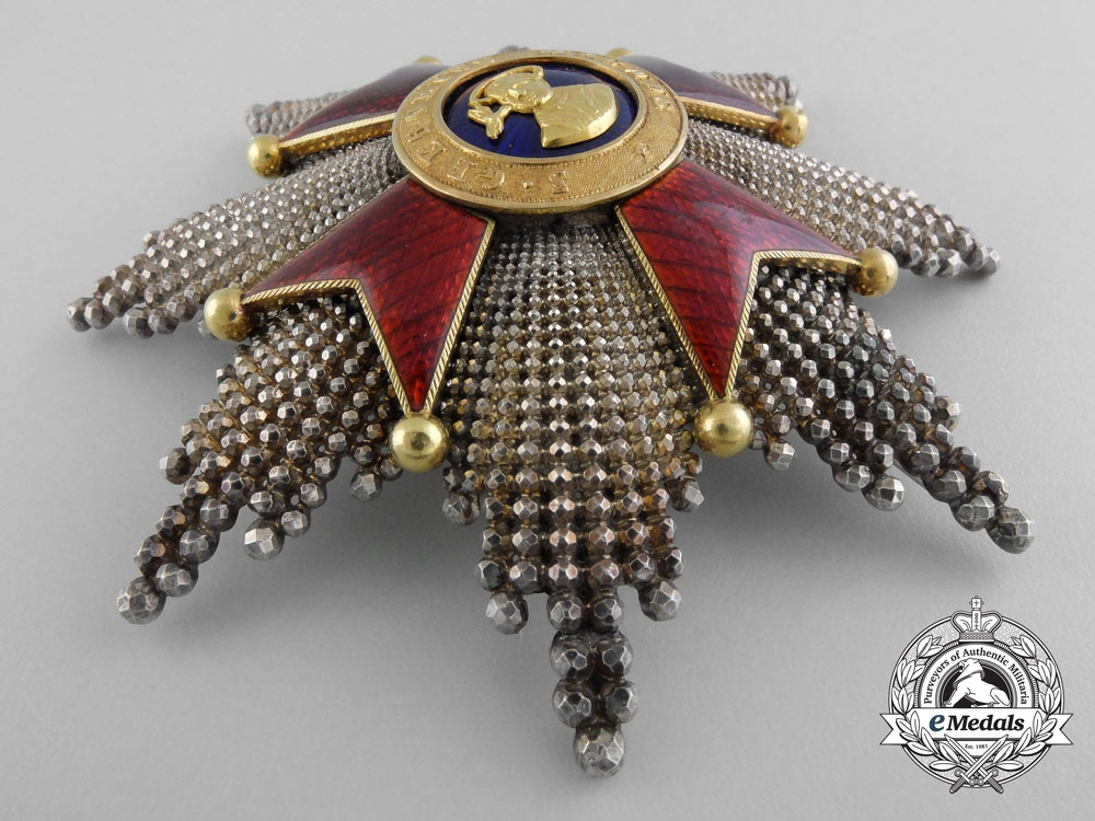 An Order of Saint Gregory; Breast Star by Rothe c.1870