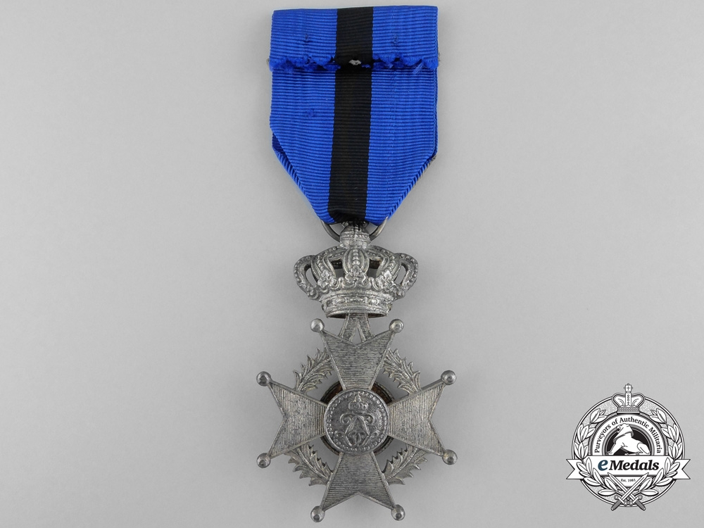 A Second War Belgian Order of Leopold II; Knight for Combatant