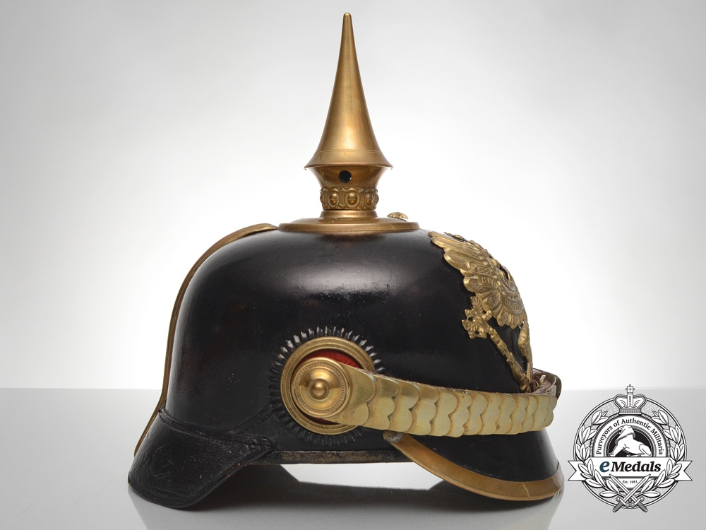 A Prussian Infantry Officer of the Grenadiers Regiment Pickelhaube