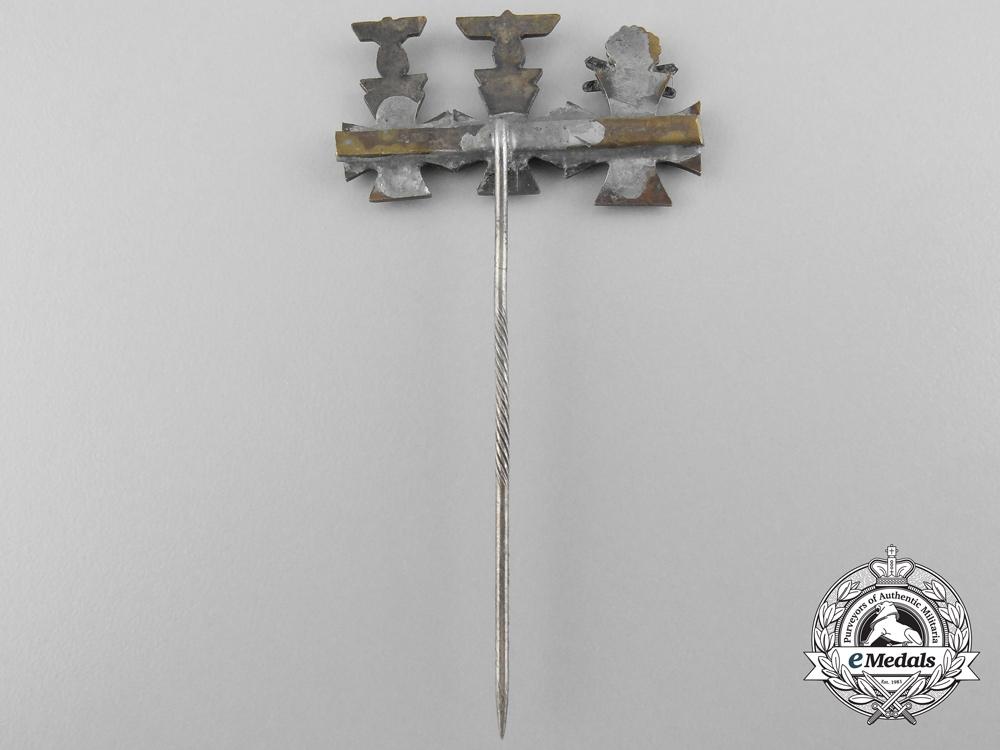 A Knight's Cross with Swords & Oakleaves, First & Second Class Iron Cross Miniature Set