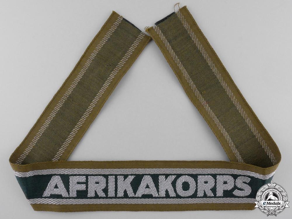 A Afrikakorps Campiagn Cufftitle