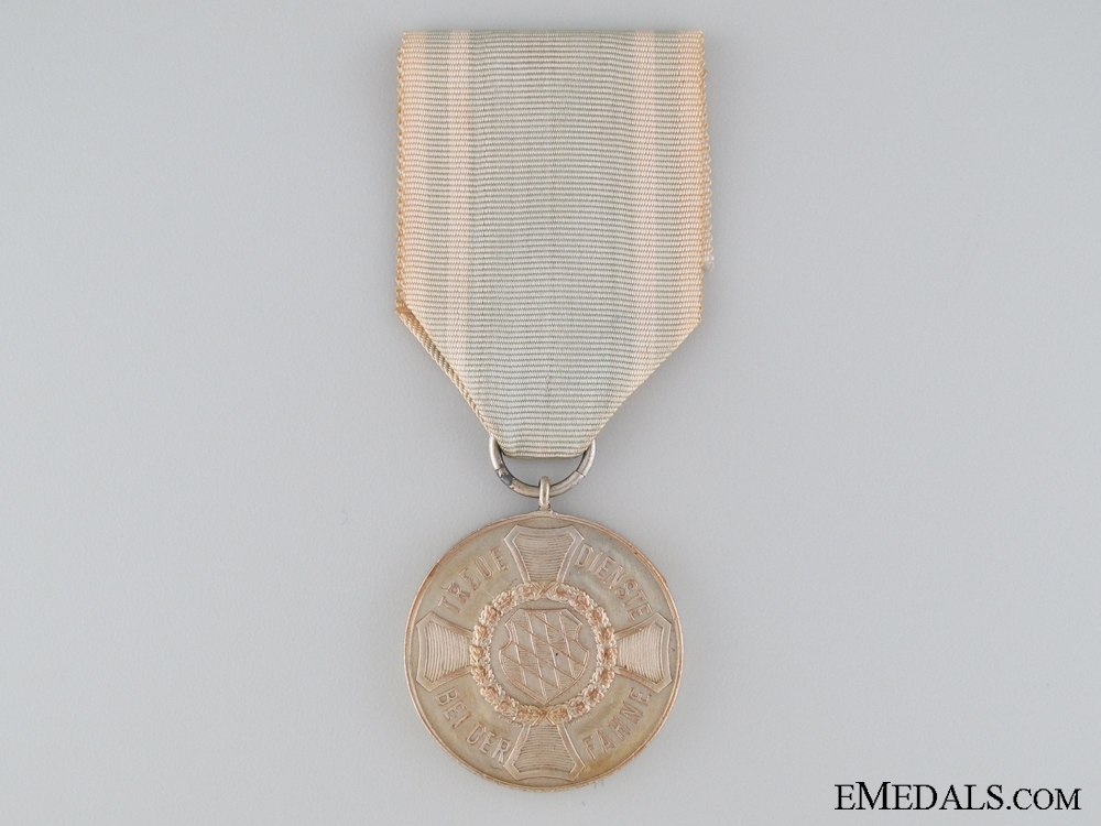 A Bavarian Military Long Service Medal; 3rd Class