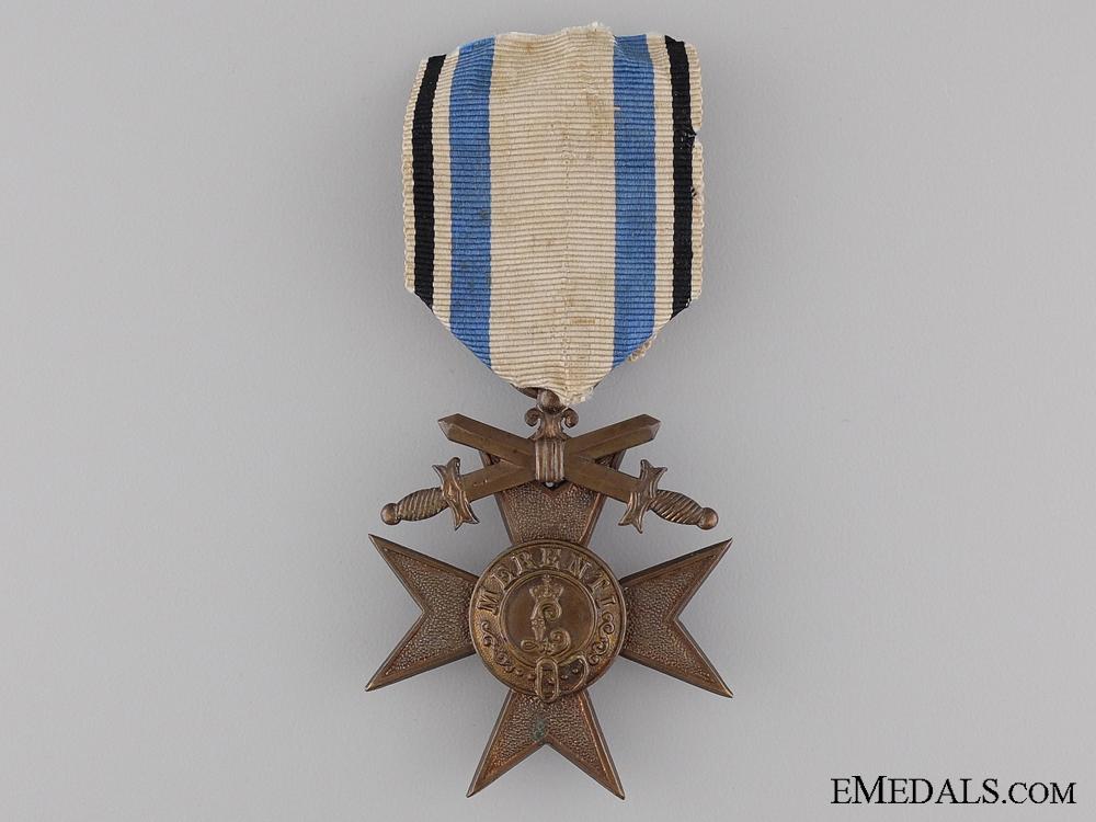 A Bavarian Military Merit Cross with Swords