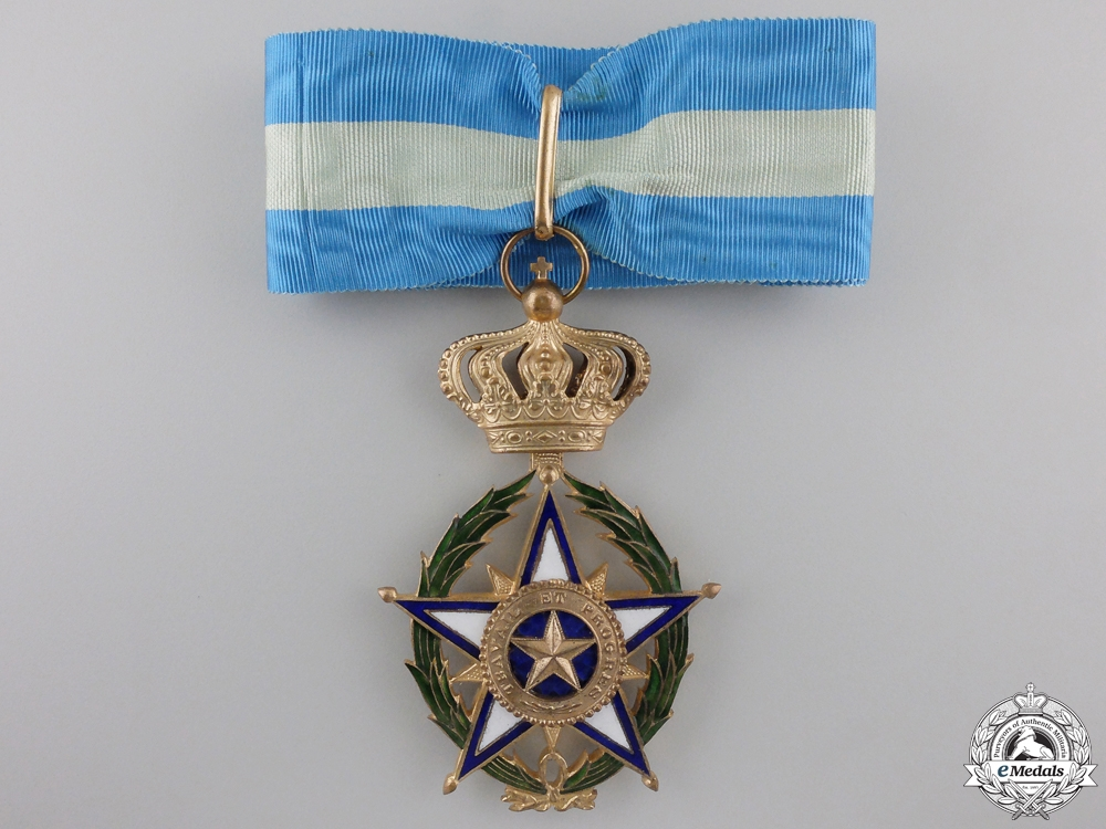 A Belgian Colonial Order of the African Star; Commander