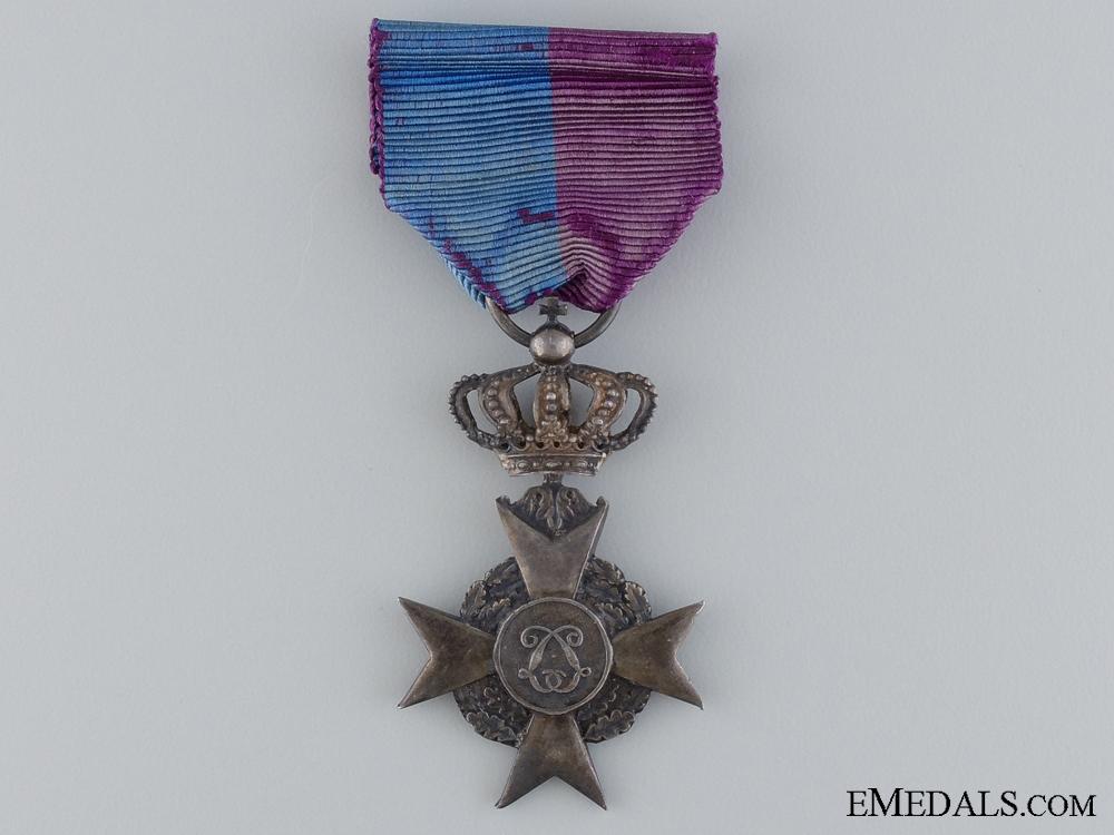 A Belgian Royal Philanthropic Society Medal