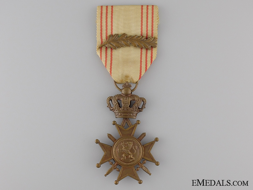 A Belgian War Cross, Post-War 1954 Version