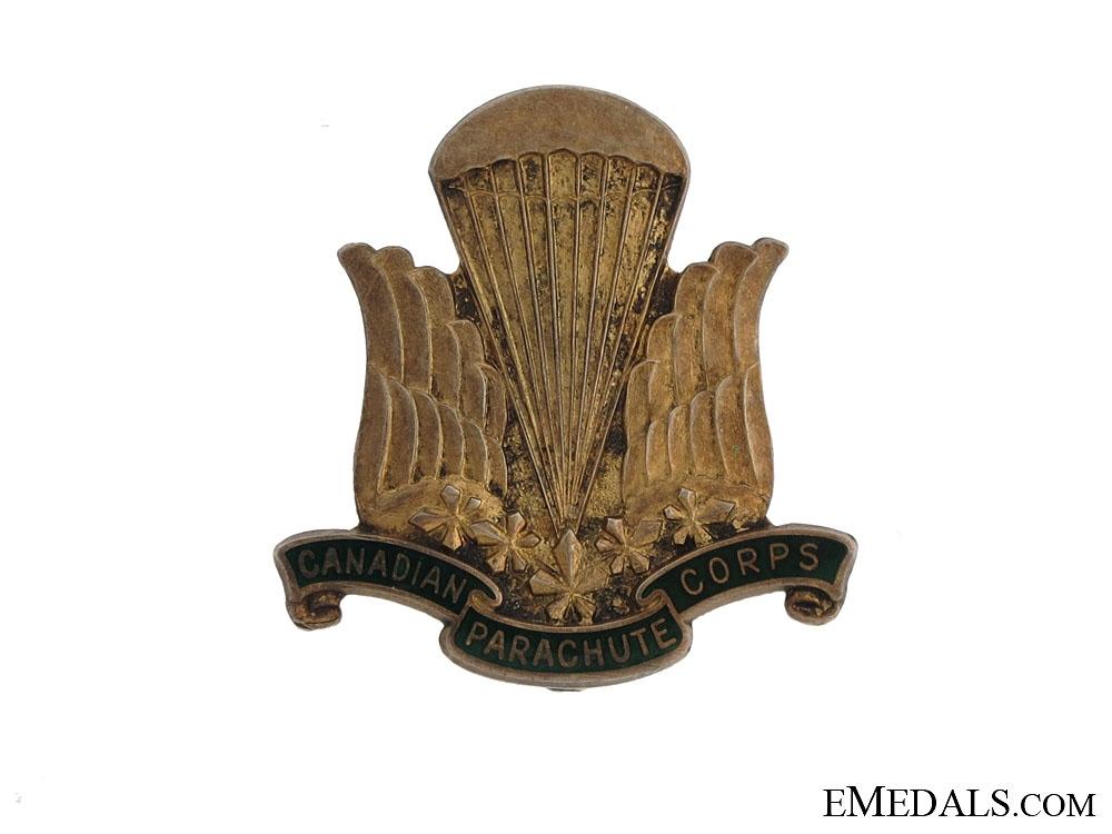 A Birks Canadian Parachute Corps Pin