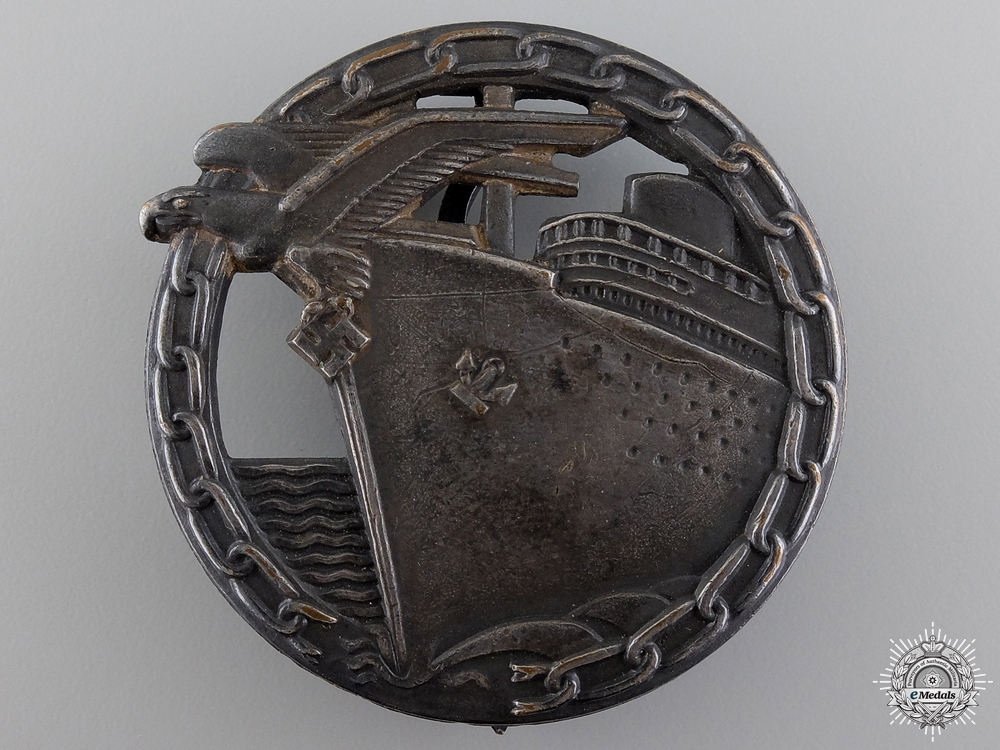 A Blockade Runner Badge by Schwerin