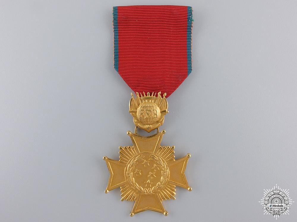 A Brazilian Combat Cross; First Class