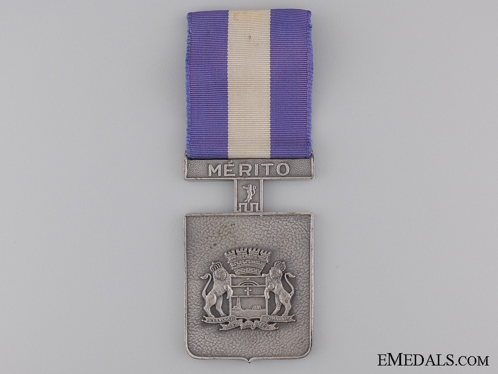 A Brazilian Merit Medal for those who Served in Recife