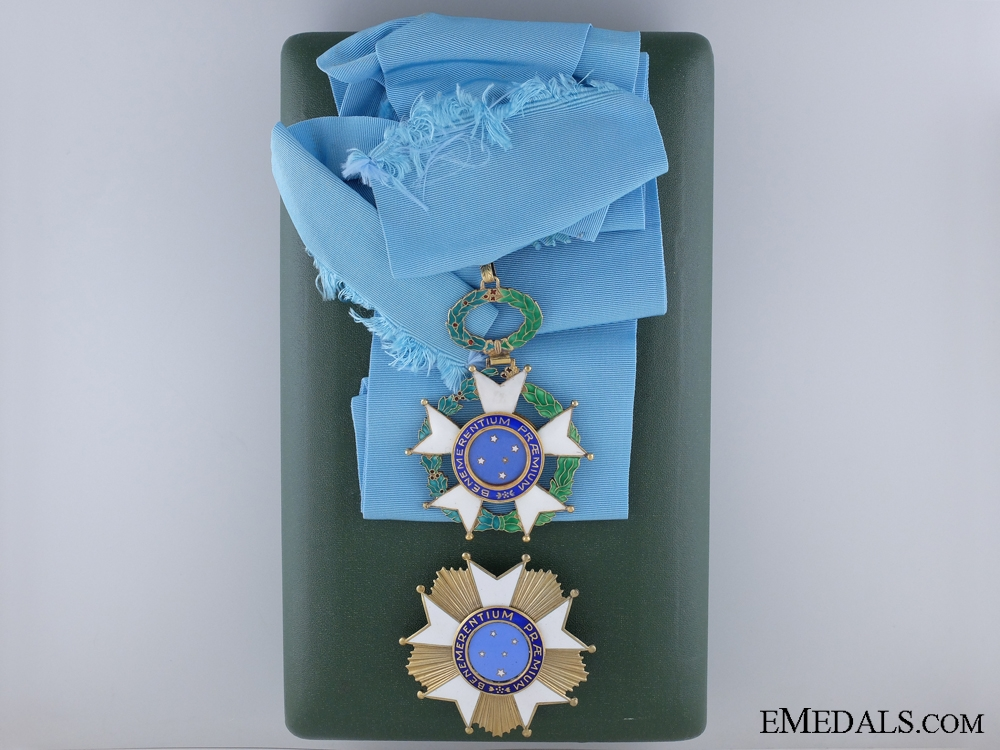 A Brazilian National Order of the Southern Cross; Grand Cross Set