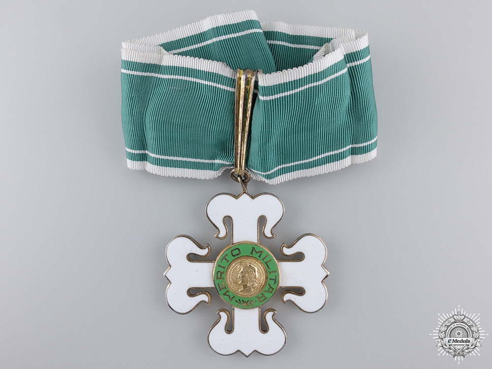A Brazilian Order of Military Merit; Commander's