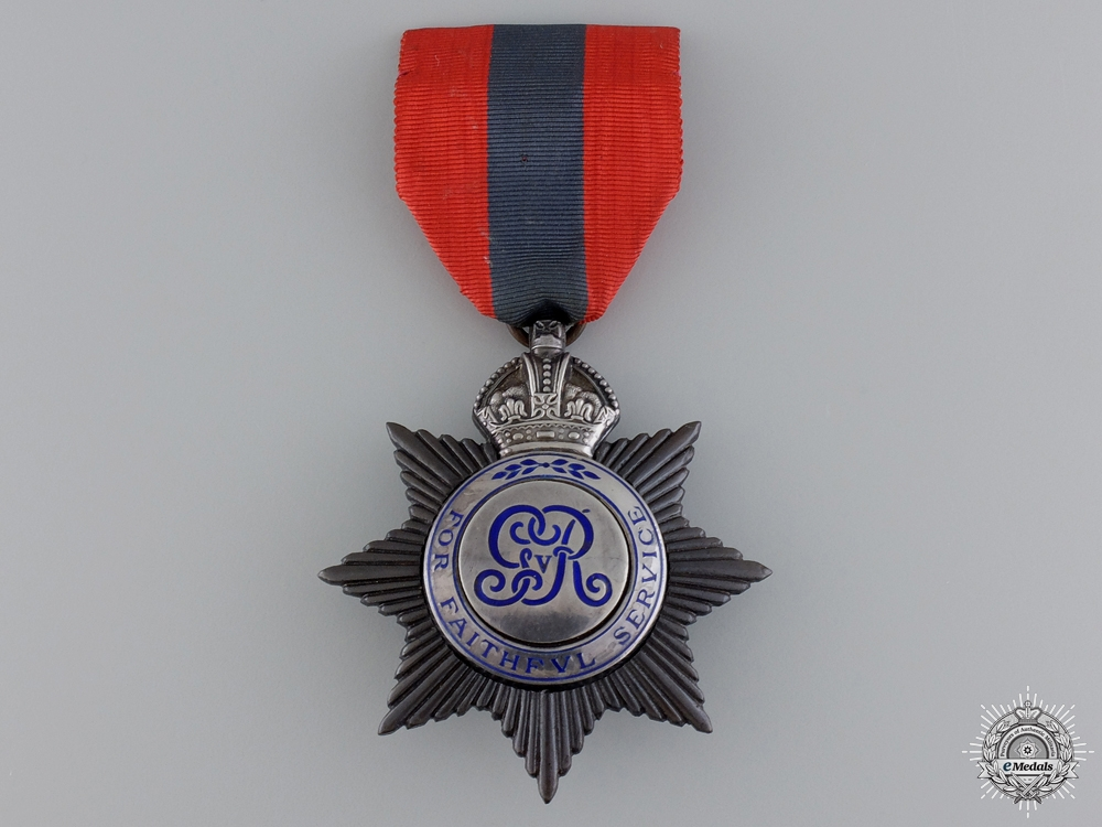 A British Imperial Service Medal to John T. Broughton