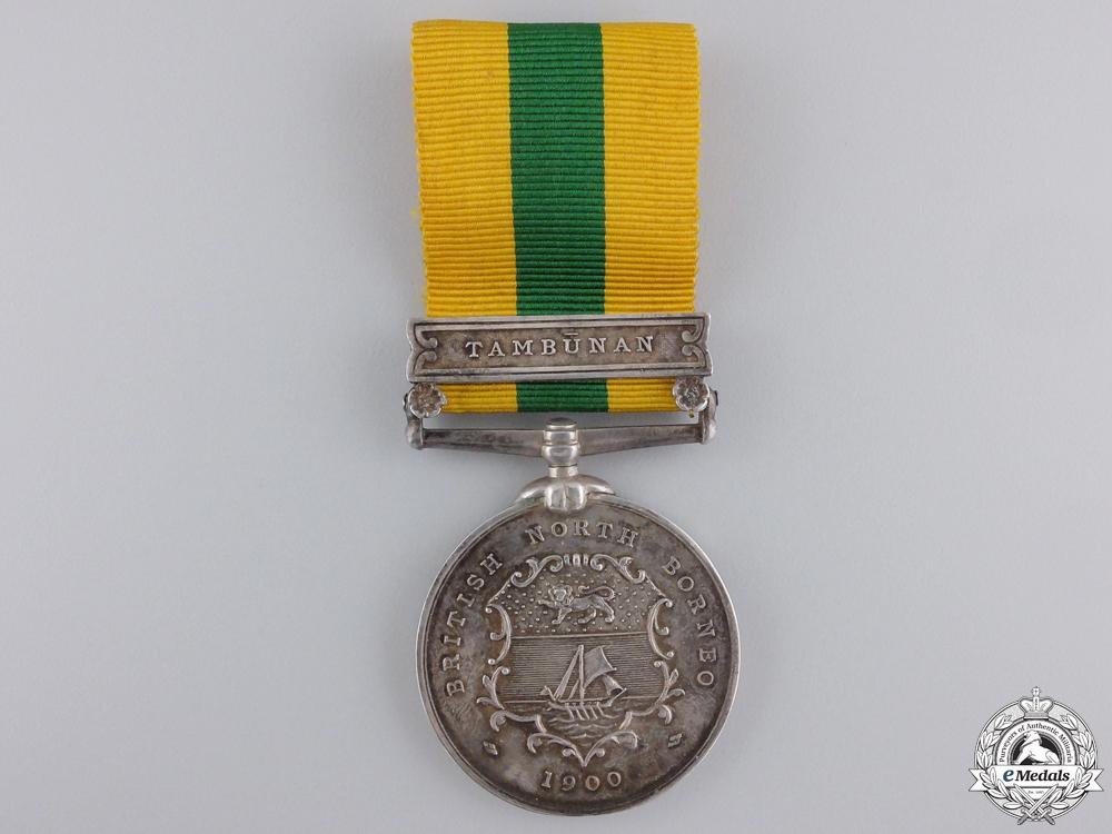A British North Borneo Company Medal 1898-1900