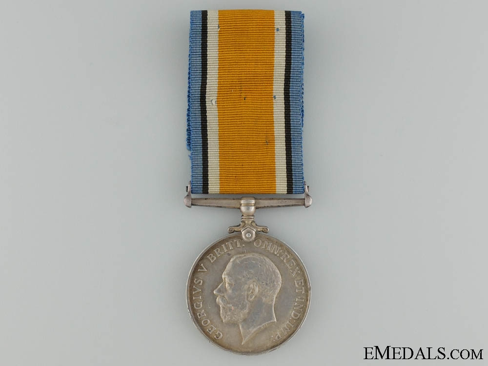 A British War Medal to the 43rd Cameron Highlanders CEF