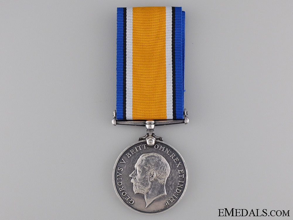 A British War Medal to the 21st Canadian Infantry CEF