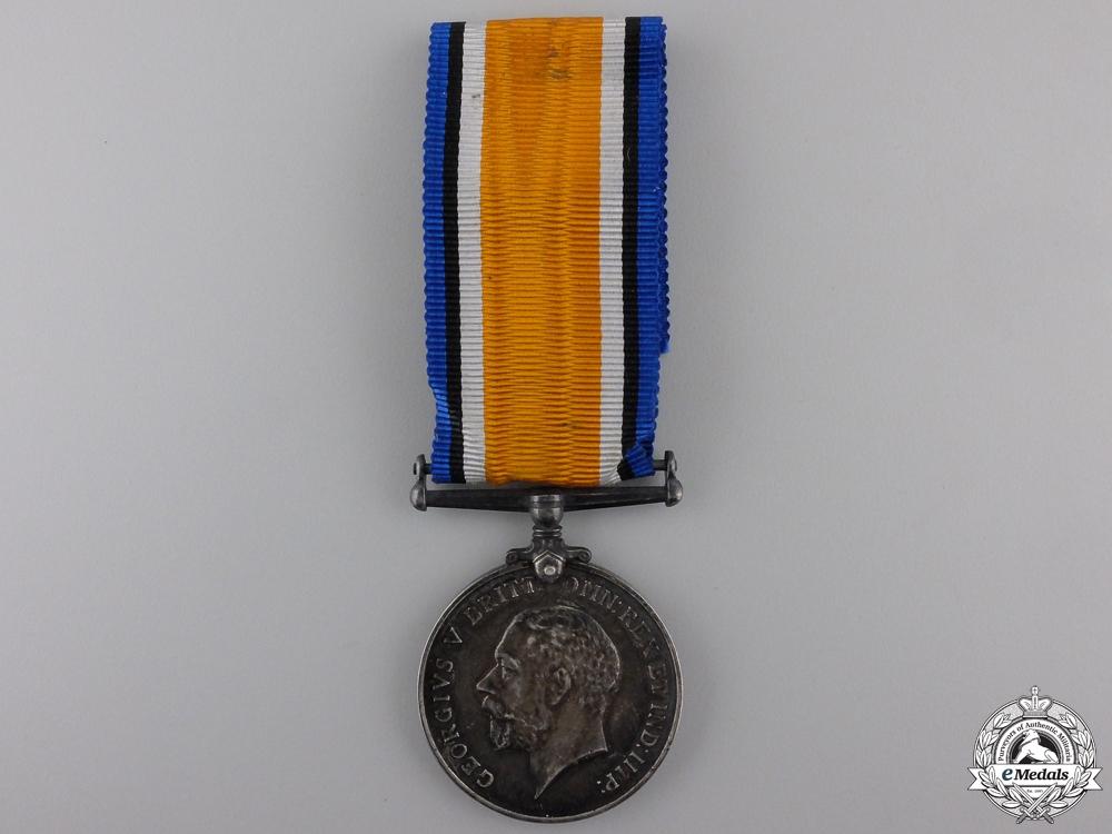 A British War Medal to the Devon Regiment