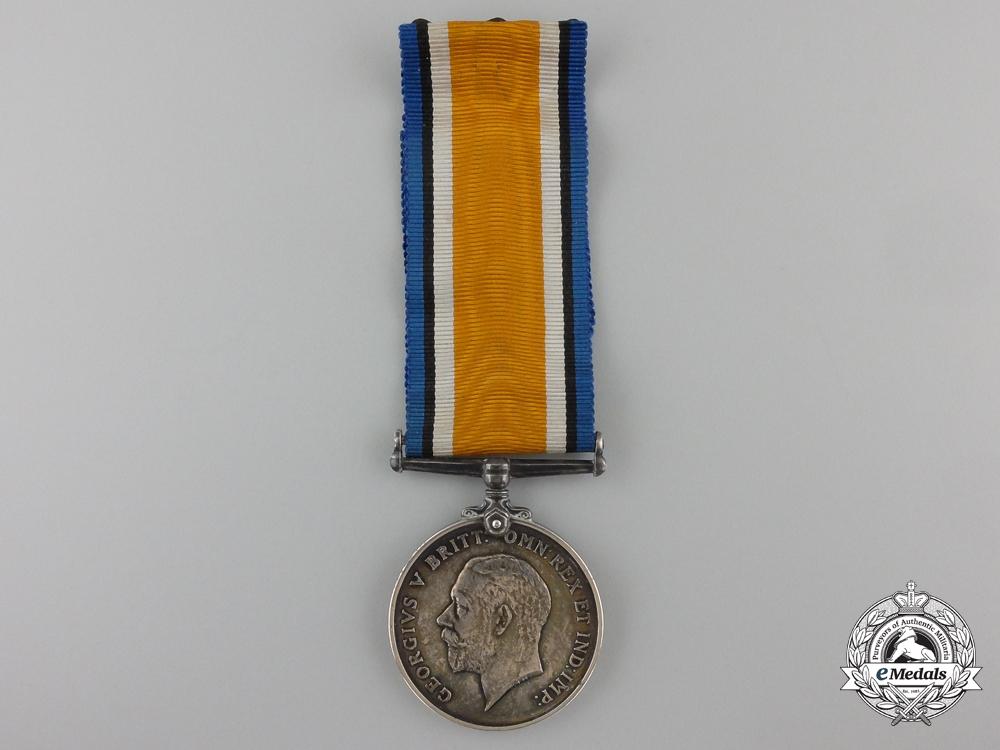 A British War Medal to Officier C. Spicer
