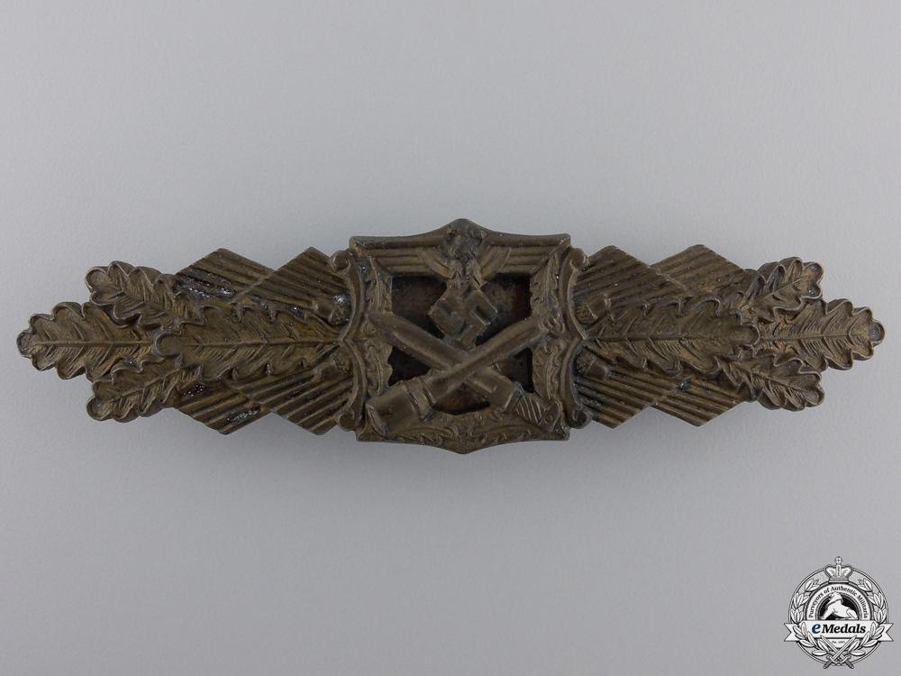 A Bronze Grade  Close Combat Clasp by  Fec. W.E.Peekhaus