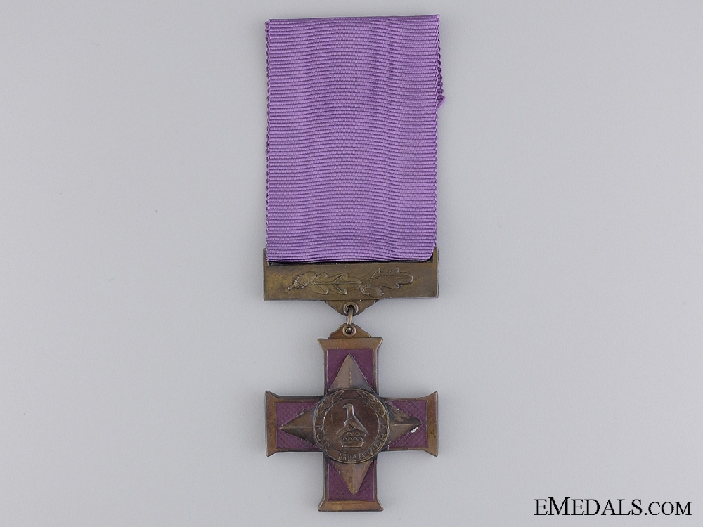 A Bronze Zimbabwe Cross for Gallantry to Trooper Kwasara