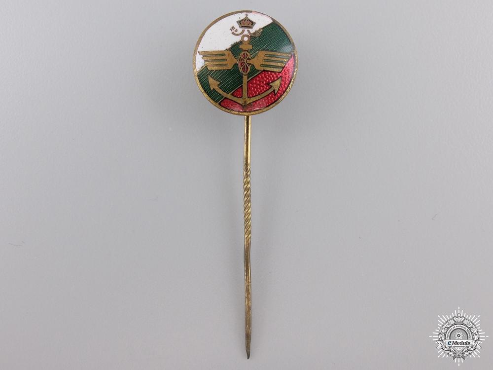 A Bulgarian Naval Stickpin