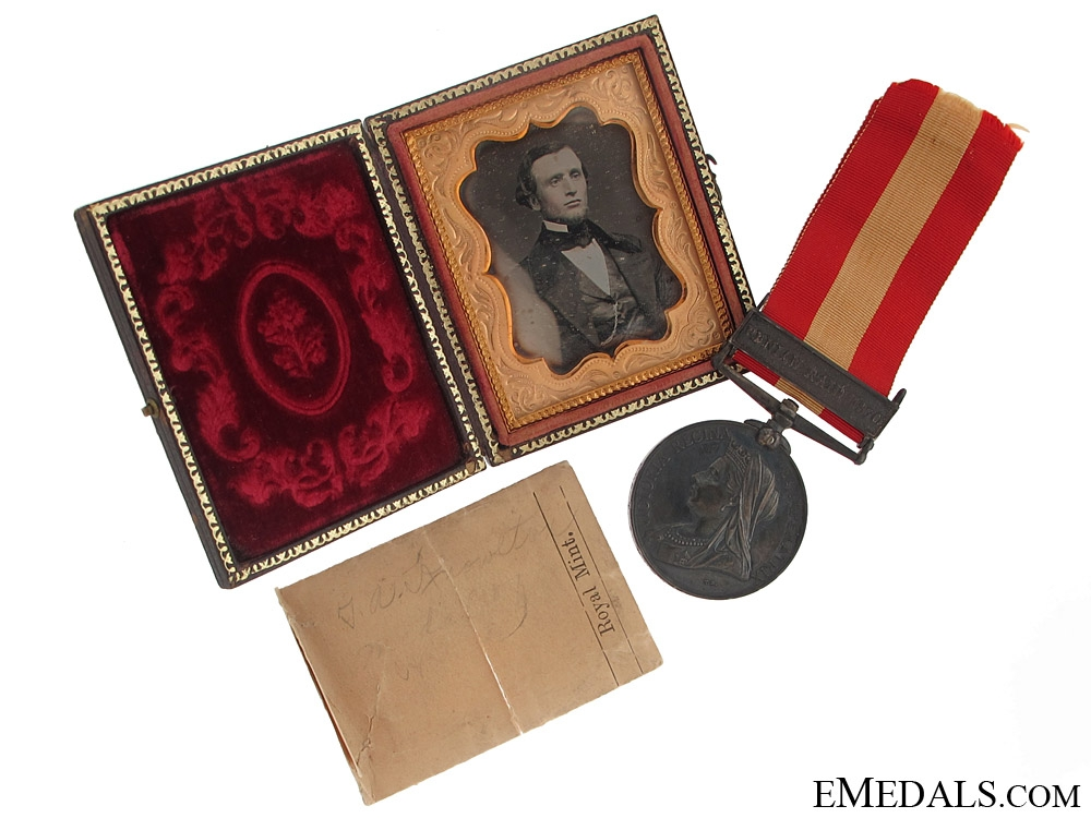 A Canada General Service & Tintype of Recipient