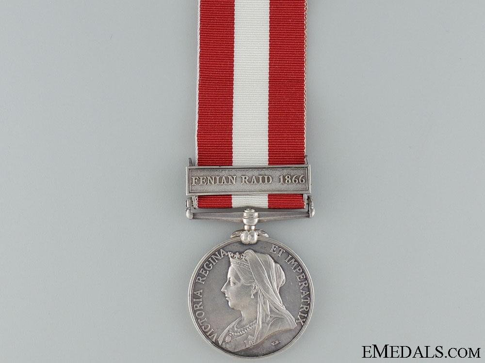 A Canada General Service Medal - Capt. Adjutant Edmund M.H. Vieth