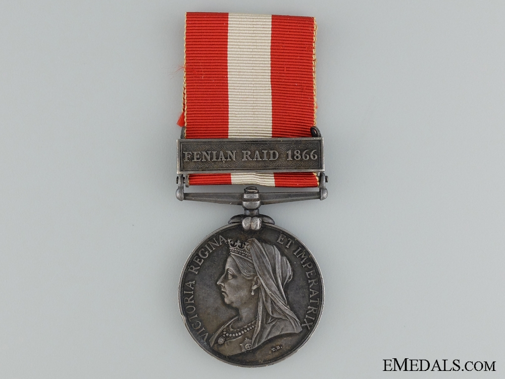 A Canada General Service Medal to the 19th Battalion