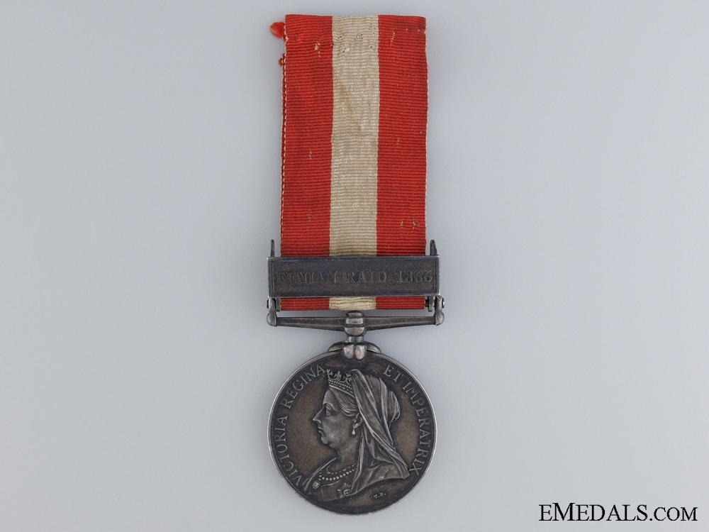 A Canada General Service Medal to the Villa Scotia Rifle Company