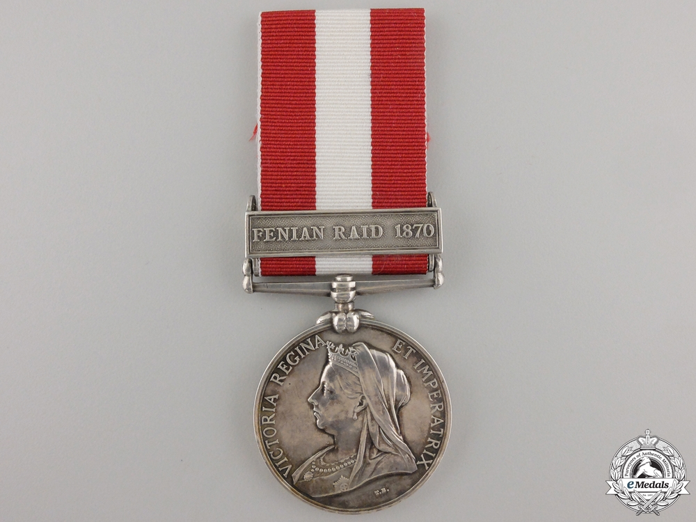 A Canada General Service Medal to the St.Gabriel Infantry