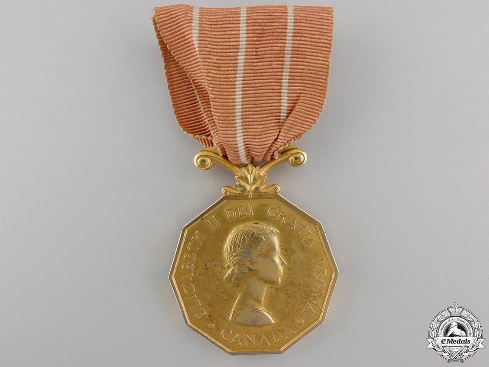 A Canadian Forces' Decoration, Sergeant M. Boulang