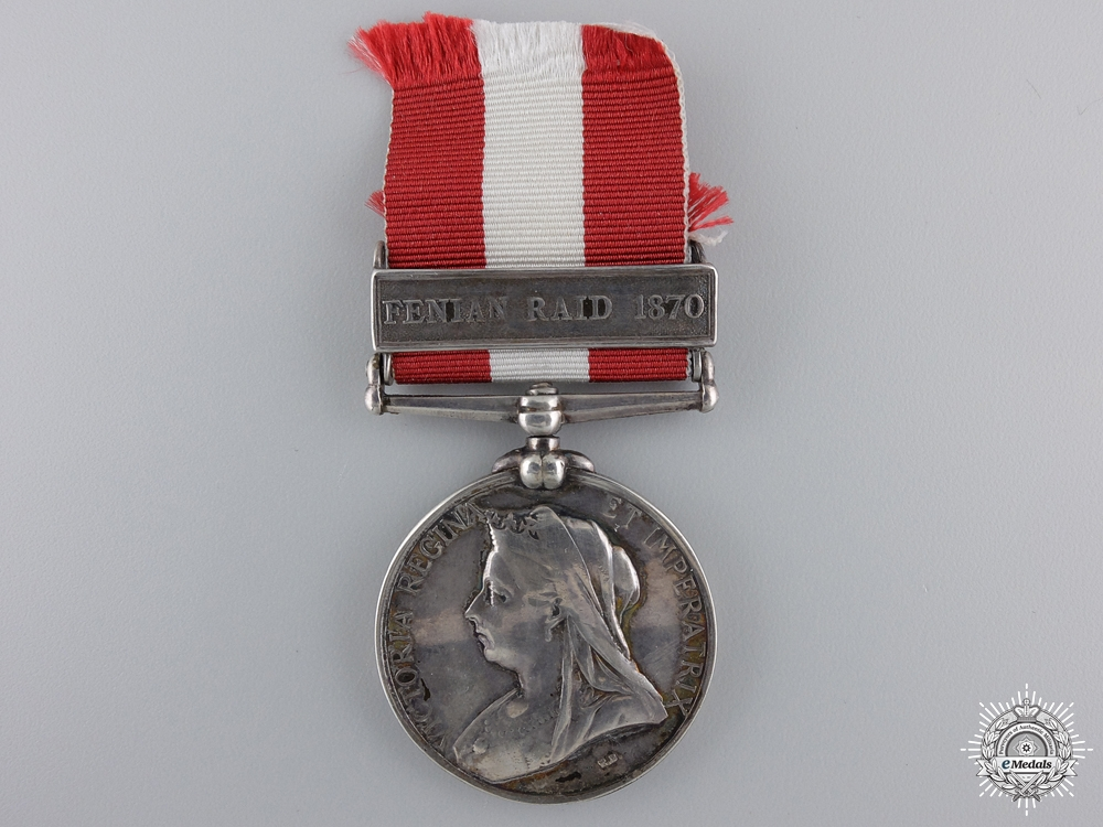A Canadian General Service Medal to the Ottawa Garrison Artillery