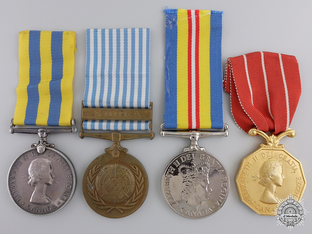 A Canadian Korea War Medal Group to the 4th Field Ambulance