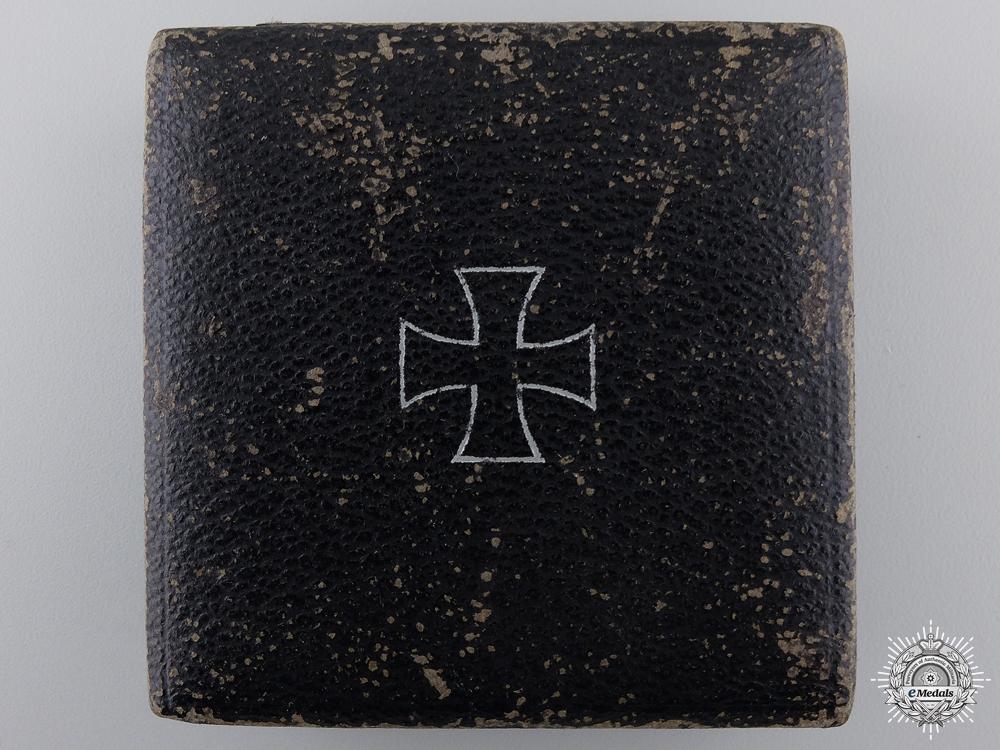 A Case for an Iron Cross 1st Class 1939 by Wilhelm Deumer