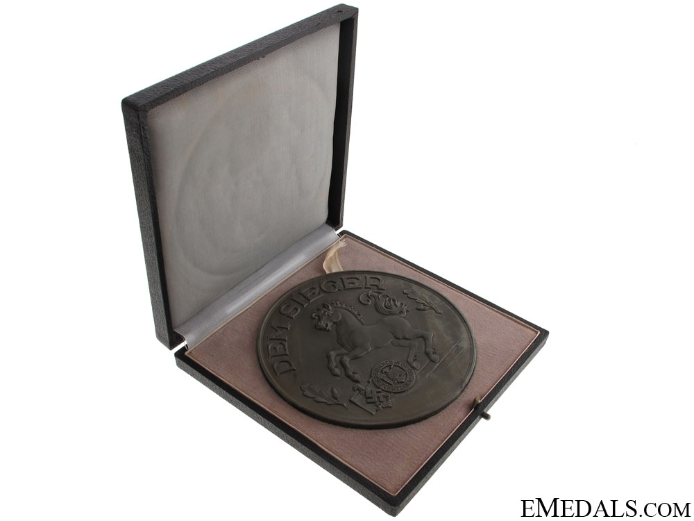 A Cased Shooting Table Medal