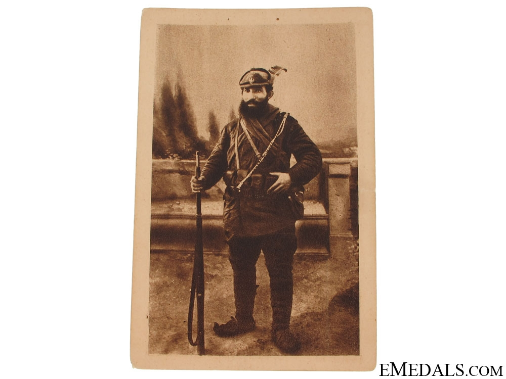 A Chetnik Postcard