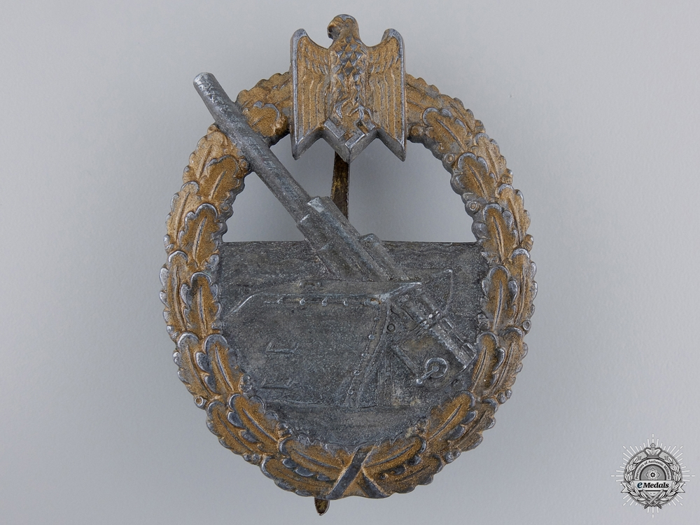 A Coastal Artillery Badge by L/56