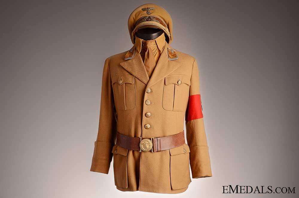 A Complete Ortsgruppe Level SA Uniform