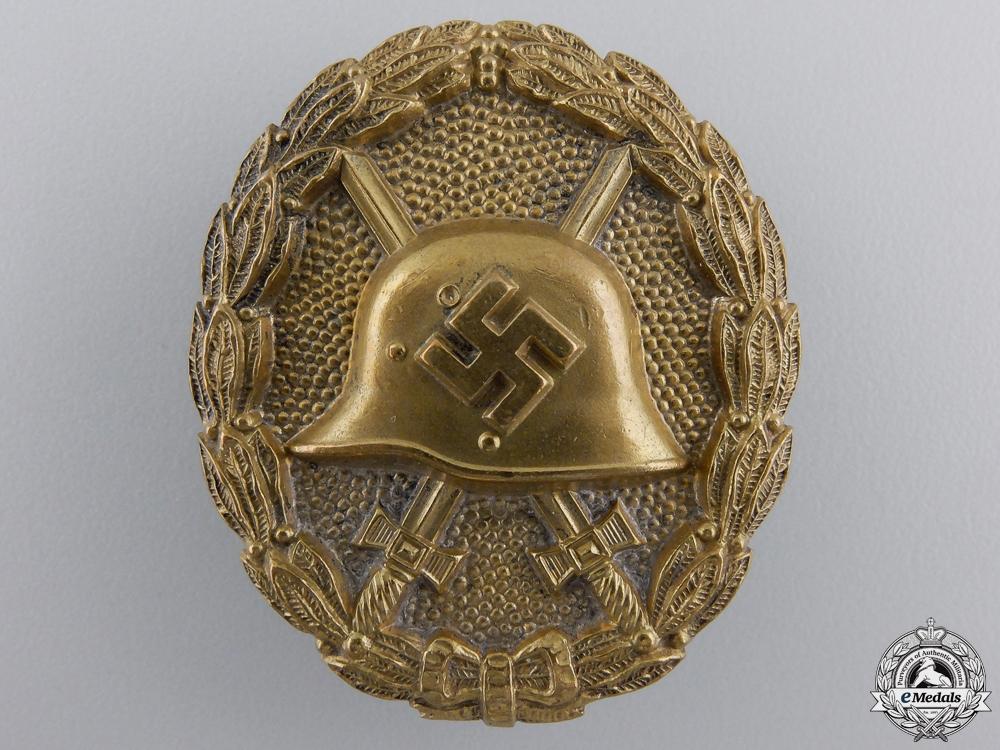 A Condor Legion Wound Badge; Silver grade