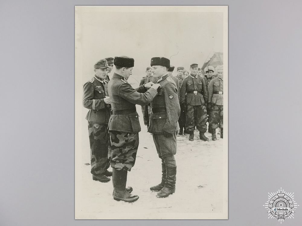 A Cossack Foreign Volunteer Press Photograph