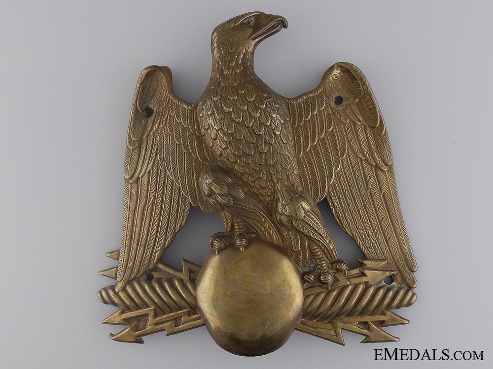 A Crimea War Period French Shako Helmet Plate