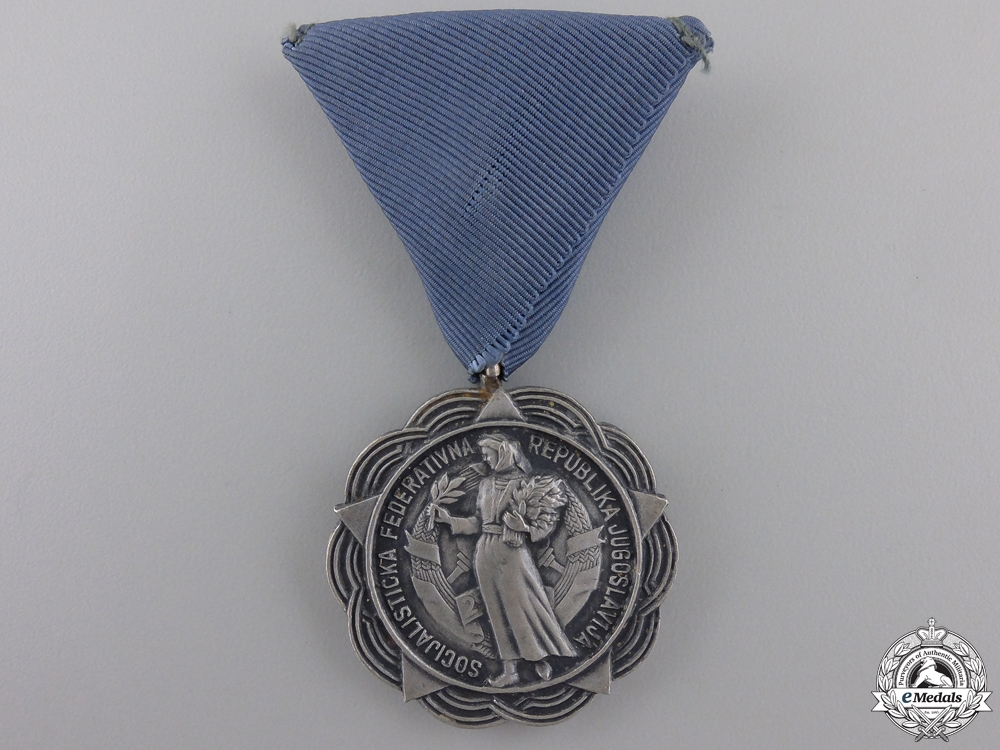 A Croatian Medal for Merit; Type II